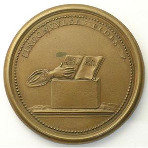 Numismatic foto  Coins Coins of Lorraine Medals Ferd. de Saint Urbain   série des Ducs de Lorraine Adalbert   bronze   47,5 mm    SUP