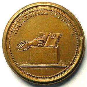 Numismatic foto  Coins Coins of Lorraine Medals Ferd. de Saint Urbain   série des Ducs de Lorraine Adalbert   bronze   47,5 mm    TTB+/SUP