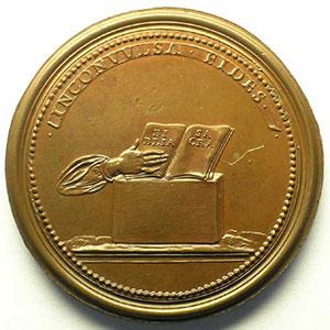 Numismatic foto  Coins Coins of Lorraine Medals Ferd. de Saint Urbain   série des Ducs de Lorraine Adalbert   bronze   47 mm    TTB+/SUP