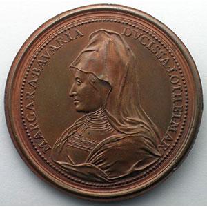 Numismatic foto  Coins Coins of Lorraine Medals Ferd. de Saint Urbain   série des Ducs de Lorraine Charles II   bronze   47 mm    TTB+/SUP