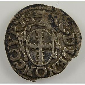 Numismatic foto  Coins Coins of Lorraine Bishopric of Metz Robert of Lenoncourt   (1551-1555) Demi-bugne   Vic-sur-Seille    TTB