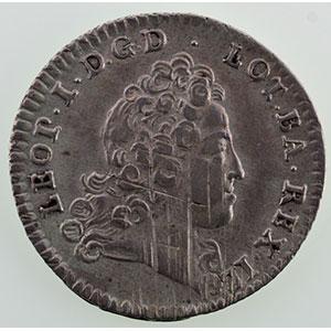 Numismatic foto  Coins Coins of Lorraine Duchy of Lorraine Léopold I   (1690-1729) Demi-teston   1719    TTB