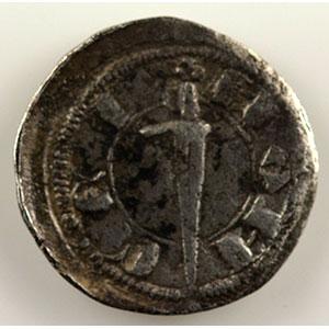 Numismatic foto  Coins Coins of Lorraine Duchy of Lorraine Ferri IV   (1312-1329) Denier au chevalier debout    TB+/TTB
