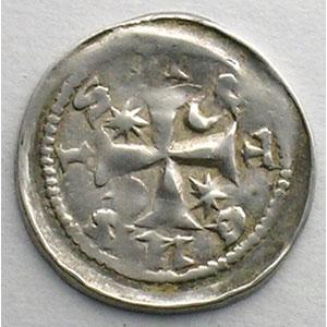 Numismatic foto  Coins Coins of Lorraine Bishopric of Metz Jean 1er d'Apremont   (1224-1238) Denier   Metz    TTB