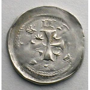 Numismatic foto  Coins Coins of Lorraine Bishopric of Metz Jean 1er d'Apremont   (1224-1238) Denier   Metz    TTB+