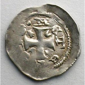 Numismatic foto  Coins Coins of Lorraine Bishopric of Metz Jacques de Lorraine   (1239-1260) Denier   Metz    TTB+