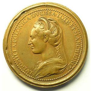 Numismatic foto  Coins Coins of Lorraine Medals Ferd. de Saint Urbain   série des Ducs de Lorraine Ferry I   bronze   47 mm    TB+/TTB
