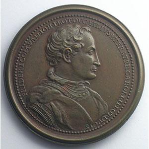 Numismatic foto  Coins Coins of Lorraine Medals Ferd. de Saint Urbain   série des Ducs de Lorraine Ferry I, Comte de Vaudémont   bronze   47 mm    TTB+