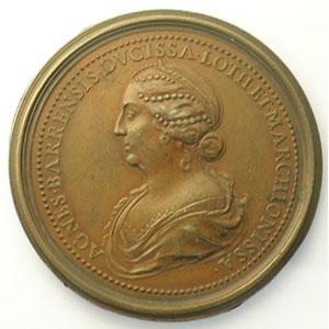 Numismatic foto  Coins Coins of Lorraine Medals Ferd. de Saint Urbain   série des Ducs de Lorraine Ferry II   bronze   47 mm    SUP