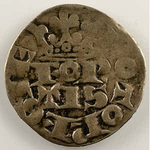 Numismatic foto  Coins Coins of Lorraine Duchy of Lorraine Ferri IV   (1312-1329) Fort bourgeois    TB+