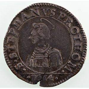 Numismatic foto  Coins Coins of Lorraine City of Metz Monnaies de la Cité Franc   1614    TTB