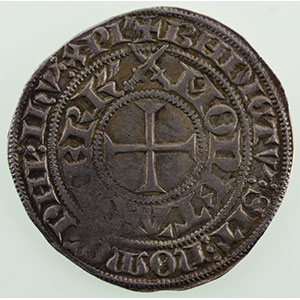 Numismatic foto  Coins Coins of Lorraine Duchy of Lorraine Charles II   (1390-1431) Gros à l'écu de Lorraine   SIERCK    TB+/TTB