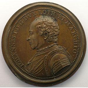 Numismatic foto  Coins Coins of Lorraine Medals Ferd. de Saint Urbain   série des Ducs de Lorraine Jean I   bronze   47 mm    TTB+