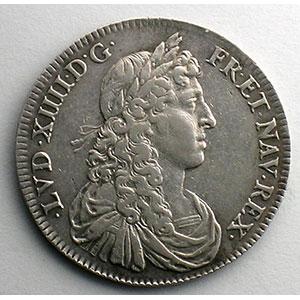 Numismatic foto  Coins Coins of Lorraine Duchy of Lorraine Charles IV en éxil   (1634-1661) Jeton rond en argent   Louis XIV   1661    TTB