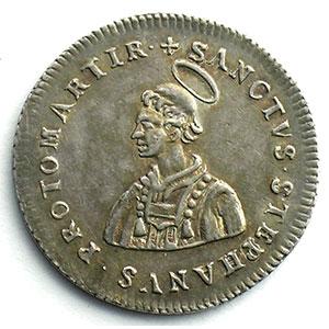 Numismatic foto  Coins Coins of Lorraine Bishopric of Metz Jetons du siège vacant Jeton rond en argent   Siège vacant de 1697    SUP
