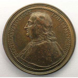 Numismatic foto  Coins Coins of Lorraine Medals Ferd. de Saint Urbain   série des Ducs de Lorraine Mathieu I   bronze   46 mm    TTB