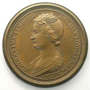 Numismatic foto  Coins Coins of Lorraine Medals Ferd. de Saint Urbain   série des Ducs de Lorraine Mathieu II   bronze   47 mm    TTB+