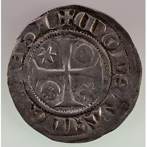 Numismatic foto  Coins Coins of Lorraine Bishopric of Metz Adhémar de Monthil   (1327-1361) Quart de gros    TB+/TTB