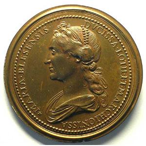 Numismatic foto  Coins Coins of Lorraine Medals Ferd. de Saint Urbain   série des Ducs de Lorraine Raoul   bronze   47 mm    TTB+/SUP