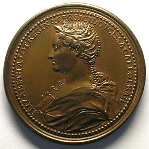 Numismatic foto  Coins Coins of Lorraine Medals Ferd. de Saint Urbain   série des Ducs de Lorraine René d'Anjou   bronze   44 mm    SUP