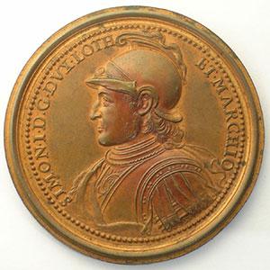 Numismatic foto  Coins Coins of Lorraine Medals Ferd. de Saint Urbain   série des Ducs de Lorraine Simon I   bronze   47 mm    SUP