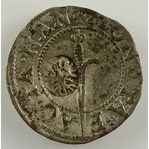 Numismatic foto  Coins Coins of Lorraine Duchy of Lorraine Charles III   (1545-1608) Sol contremarqué d'un alérion    TTB