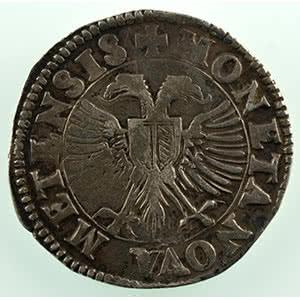 Numismatic foto  Coins Coins of Lorraine City of Metz Monnaies de la Cité Teston   1600    TB+