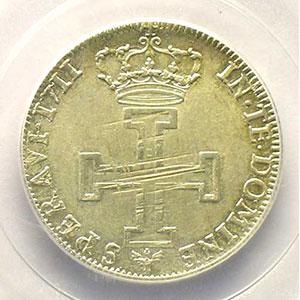 Numismatic foto  Coins Coins of Lorraine Duchy of Lorraine Léopold I   (1690-1729) Teston 1711 flan neuf    PCGS-AU58    SUP