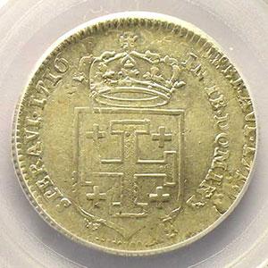 Numismatic foto  Coins Coins of Lorraine Duchy of Lorraine Léopold I   (1690-1729) Teston 1716 réformé    PCGS-MS62    SUP/FDC