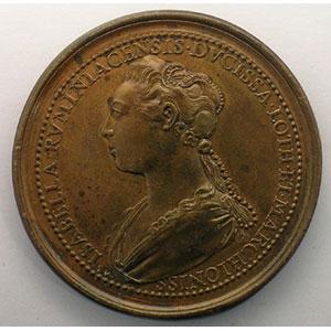 Numismatic foto  Coins Coins of Lorraine Medals Ferd. de Saint Urbain   série des Ducs de Lorraine Thiebault II   bronze   45 mm    SUP