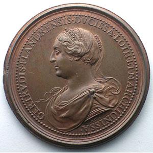 Numismatic foto  Coins Coins of Lorraine Medals Ferd. de Saint Urbain   série des Ducs de Lorraine Thierry   bronze   47 mm    SUP