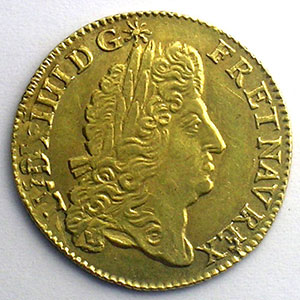 French royal coins Louis XIV   (1643-1715)