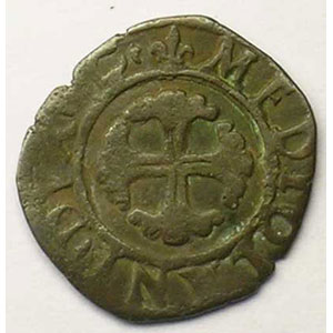 Numismatic foto  Coins French royal coins Louis XII   (1498-1514) Duplessy 737   Trillina Milan    TB+