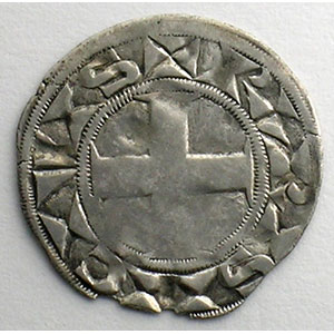 Numismatic foto  Coins French royal coins Louis VII   (1137-1180) Duplessy 146   Denier 3° type Paris    TB+