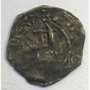 Numismatic foto  Coins French royal coins Louis VI   (1108-1137) Duplessy 97   Obole de Dreux TB