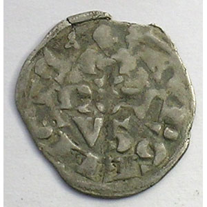 Numismatic foto  Coins French royal coins Philippe IV   (1285-1314) Duplessy 233   Obole Bourgeoise TB+