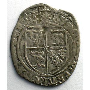 Numismatic foto  Coins French royal coins Louis XII   (1498-1514) Duplessy 671   Douzain du Dauphiné TB+