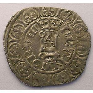 Numismatic foto  Coins French royal coins Philippe VI   (1328-1350) Duplessy 262A   Gros à la Couronne, 2° émission TTB/TTB+