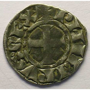 Numismatic foto  Coins French royal coins Philippe III   (1270-1285) Duplessy 204   Denier tournois TTB