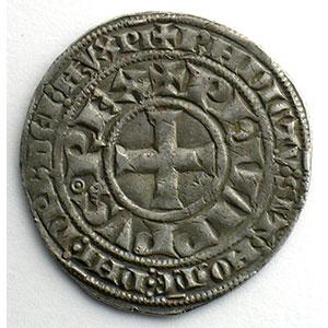 Numismatic foto  Coins French royal coins Philippe IV   (1285-1314) Duplessy 217   Gros Tournois à l'O long et au lis TTB