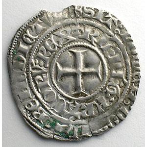 Numismatic foto  Coins French royal coins Charles VI   (1380-1422) Duplessy 384   Gros aux lis sous une couronne TTB