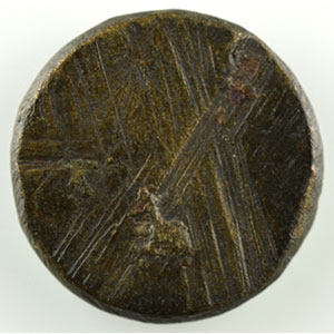 Numismatic foto  Coins monetary weights France Philippe VI   (1328-1350) Poids monétaire de l'Ecu à la chaise    SUP