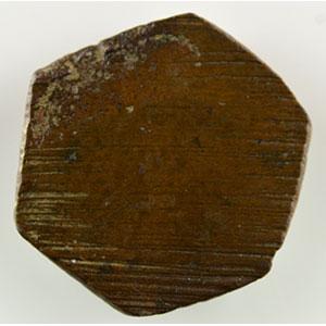 Numismatic foto  Coins monetary weights France Charles VI   (1380-1422) Poids monétaire de l'Ecu à la Couronne    SUP