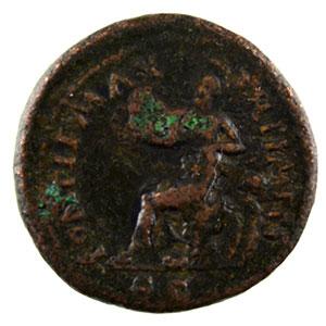 Numismatic foto  Coins Roman empire Nero   (54-68) Semis R/ PONTIF MAX TR P IMP P P SC   Lyon    TB/TTB
