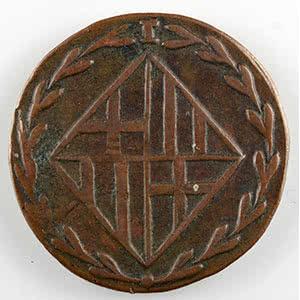 Numismatic foto  Coins World coins Spain Occupation française de Barcelone   (1808-1814) 1 Quarto   1811    TB/TB+