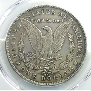 Numismatic foto  Coins World coins United States 1 Dollar type Morgan 1878 CC  (Carson city)    PCGS-UNC Detail    SUP