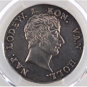 Numismatic foto  Coins World coins Netherlands Louis-Napoléon  (1806-1810) 50 Stuivers   1808  Utrecht    PCGS-MS62    SUP/FDC