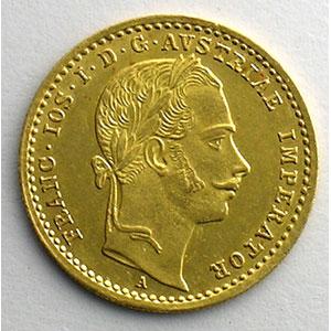 Numismatic foto  Coins World coins Austria François Joseph I   (1848-1916) Ducat   1862 A    SUP