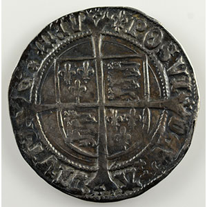 Numismatic foto  Coins World coins Great Britain Henry VIII   (1509-1547) Gros   (Lis)    TB+/TTB
