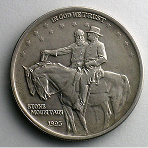 Numismatic foto  Coins World coins United States Commemorative coinage Half Dollar   1925   Stone Mountain Memorial    SUP